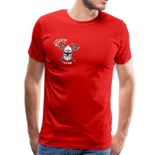 Load image into Gallery viewer, Men's Premium T-Shirt axe skull - red