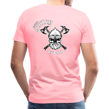 Load image into Gallery viewer, Men's Premium T-Shirt axe skull - pink