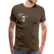 Load image into Gallery viewer, Men's Premium T-Shirt axe skull - noble brown