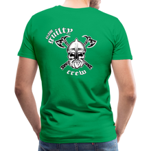 Load image into Gallery viewer, Men's Premium T-Shirt axe skull - kelly green