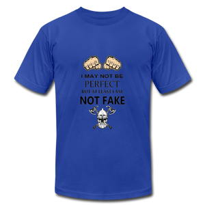 NOT FAKE - royal blue