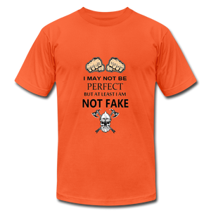 NOT FAKE - orange