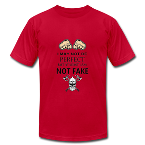 NOT FAKE - red