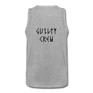 Men's Premium Tank viking ghost - heather gray