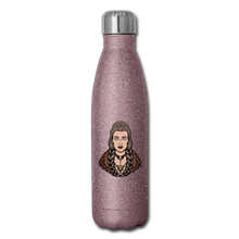 Load image into Gallery viewer, Insulated Stainless Steel Water Bottle - pink glitter