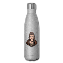 Load image into Gallery viewer, Insulated Stainless Steel Water Bottle - silver glitter