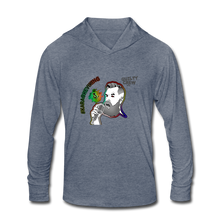 Load image into Gallery viewer, Unisex Tri-Blend Hoodie Shirt - heather blue