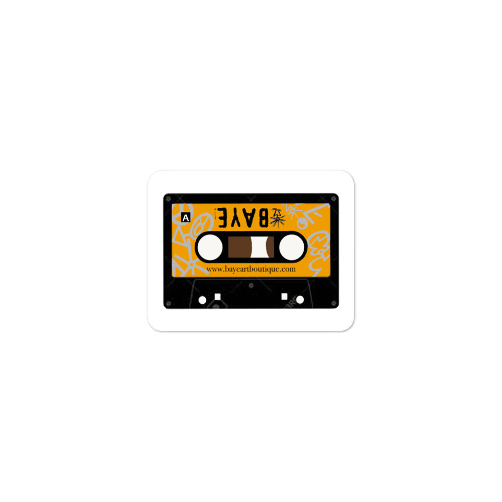 Baye Accessories - Baye Cassette Tape Bubble-Free Stickers