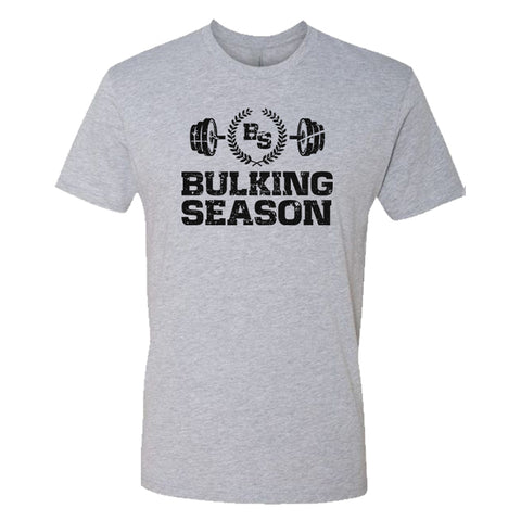 Bulking Season Barbell Logo T-Shirt