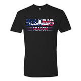 Bulking Season American Flag Logo T-Shirt