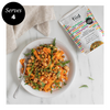 fiid Hack: Moroccan Butterbean and Carrot Ribbon Salad With Roasted Chickpeas