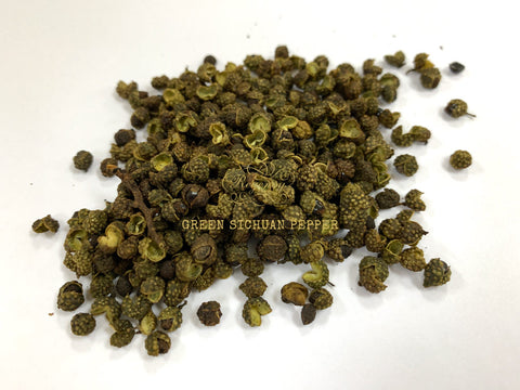 Sichuan Peppercorns (Green)