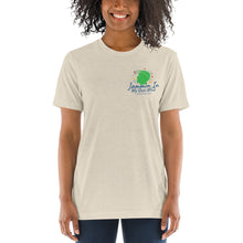 "Load image into Gallery viewer, ""Jammin In My Own Mind Having A Good Time"" Tri-Blend Unisex Pocket Tee"