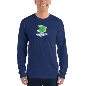 """Jammin In My Own Mind Having A Good Time"" Ultra Smooth Long sleeve t-shirt (unisex)"