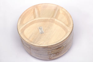 "Extra Large Round Partition Plates (12"")"
