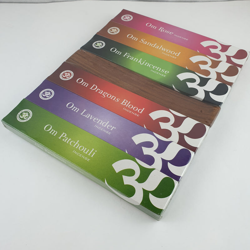 OM Gift pack Mixed fragrance- 15 g x 6 pack - The KO Shop Australia Wholesale Suppliers Distributors of New Age Products & Natural Incense