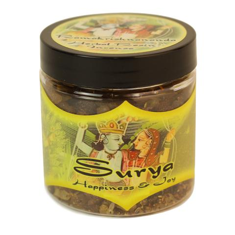 Resin Incense Surya - Happiness and Joy - 2.4oz jar - The KO Shop Australia Wholesale Suppliers Distributors of New Age Products & Natural Incense