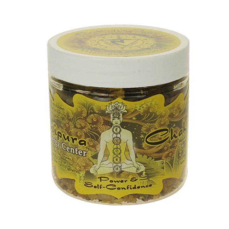 Resin Incense Solar Plexus Chakra Manipura - Self-confidence and Transformation - 2.4oz jar - The KO Shop Australia Pty Ltd