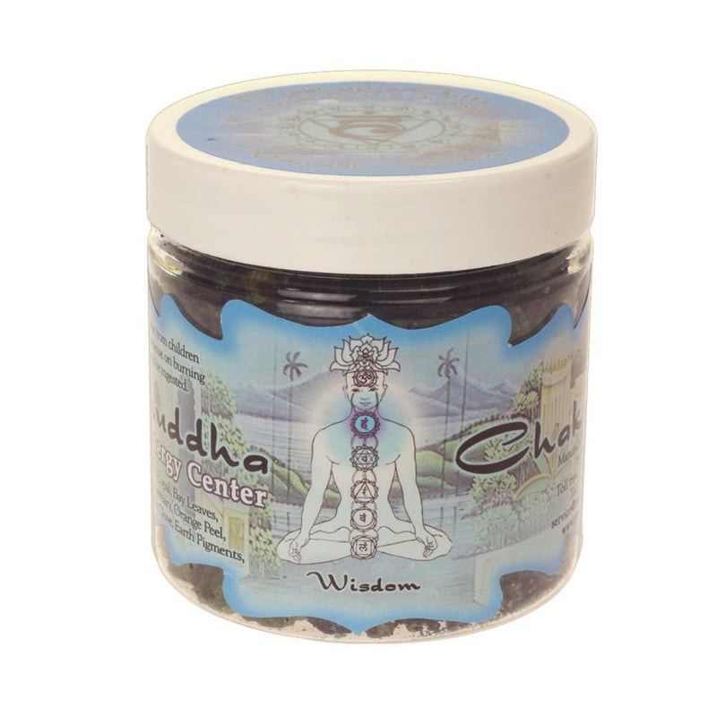 Resin Incense Throat Chakra Vishuddha - Communication and Responsibility - 2.4oz jar - The KO Shop Australia Wholesale Suppliers Distributors of New Age Products & Natural Incense