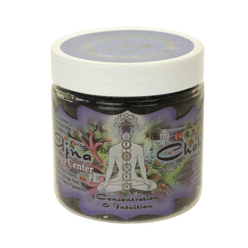 Resin Incense Third Eye Chakra Ajna - Concentration and Intuition - 2.4oz jar - The KO Shop Australia Pty Ltd