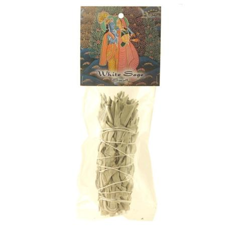 "PGW White Sage Smudge Stick - Small Bundle (4""-5"") - The KO Shop Australia Wholesale Suppliers Distributors of New Age Products & Natural Incense"