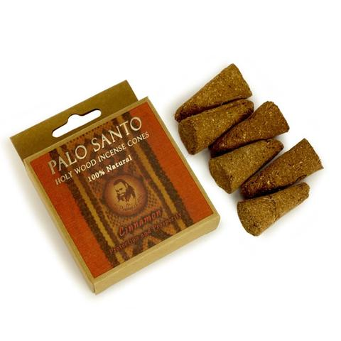 PG Palo Santo and Cinnamon - Protection & Prosperity - 6 Incense Cones - The KO Shop Australia New Age Productd