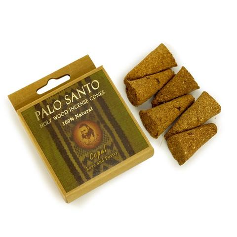 PG Palo Santo and Copal - Love & Purity - 6 Incense Cones - The KO Shop Australia Wholesale Suppliers Distributors of New Age Products & Natural Incense
