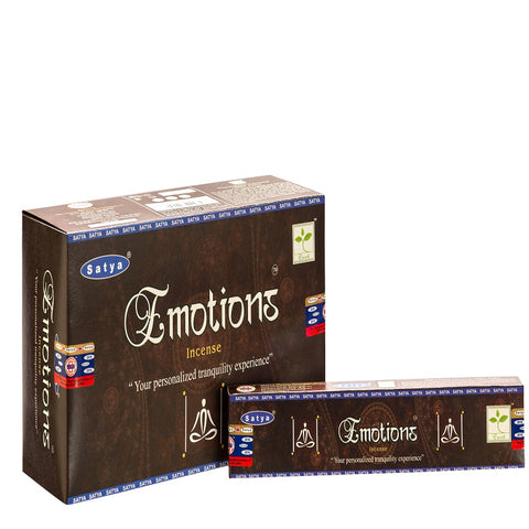 Satya Emotions Incense 15 g x 12 - The KO Shop Australia New Age Productd