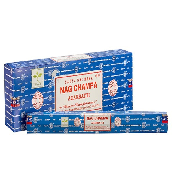 Nag Champa Satya Sai Baba Garden sticks-50g x 12 - The KO Shop Australia Wholesale Suppliers Distributors of New Age Products & Natural Incense