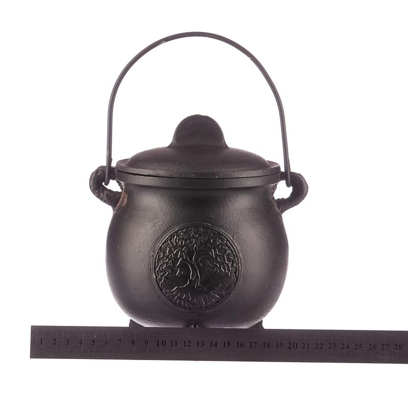 SWH-BR89 CI Cauldron TOL With Lid