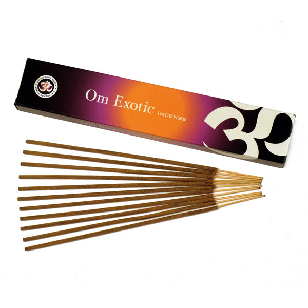 OM Exotic 12 X 15g - The KO Shop Australia Wholesale Suppliers Distributors of New Age Products & Natural Incense