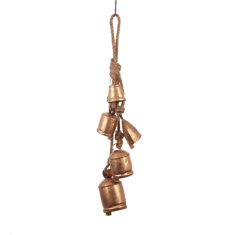 5 decorative Bells Cluster (Pack of 1)
