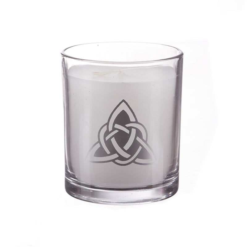 Triquetra Glass Candle Holder