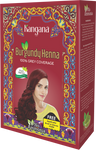 Kangana Burgundy Henna Powder for 100% Grey Coverage - Natural Burgundy Henna Powder for Hair Dye - The KO Shop Australia New Age Productd
