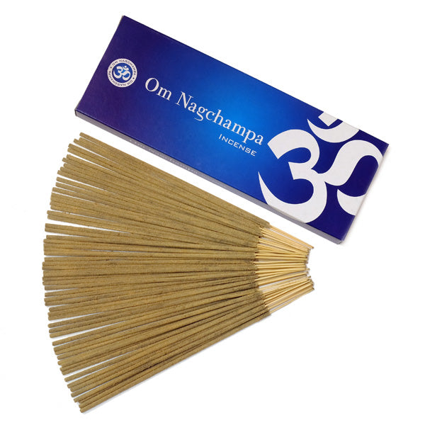 OM Nagchampa 6 X 100g - The KO Shop Australia Wholesale Suppliers Distributors of New Age Products & Natural Incense