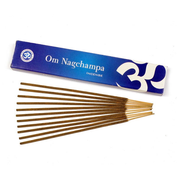 OM Nagchampa 12 X 15g - The KO Shop Australia Wholesale Suppliers Distributors of New Age Products & Natural Incense