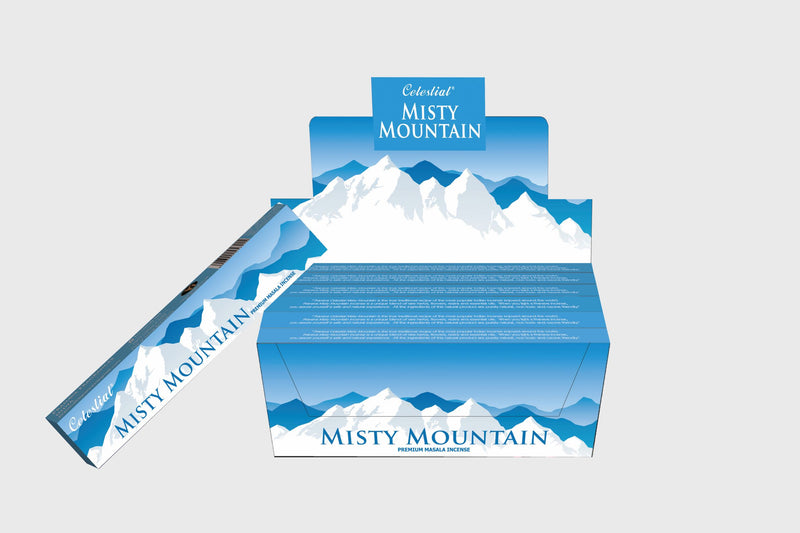 Nandita Esoteric Series Misty Mountain 15 Gms (Pack of 12)