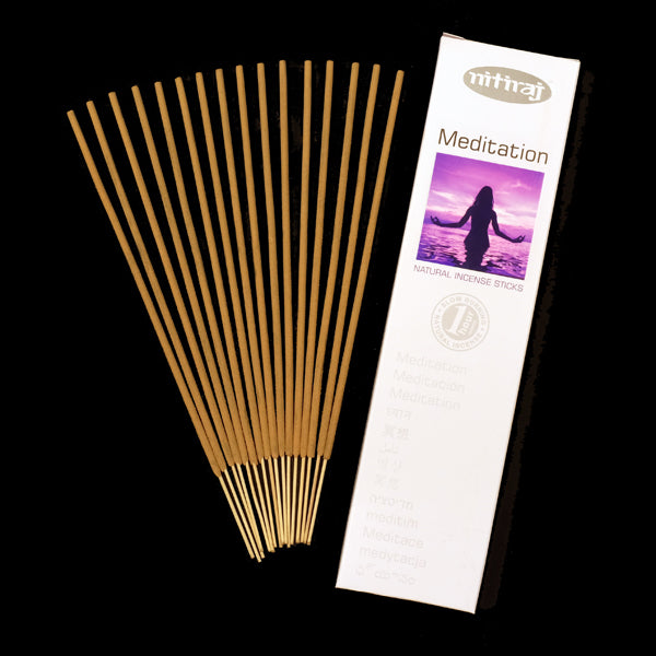 Nitiraj Meditation 6 X 25g - The KO Shop Australia Wholesale Suppliers Distributors of New Age Products & Natural Incense