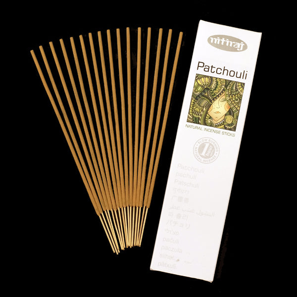 Nitiraj Patchouli 6 X 25g - The KO Shop Australia Wholesale Suppliers Distributors of New Age Products & Natural Incense
