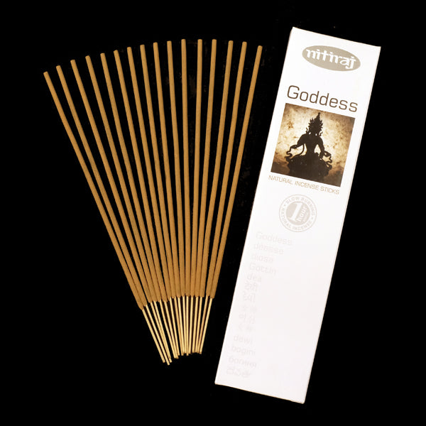 Nitiraj Goddess 6 X 25g - The KO Shop Australia Wholesale Suppliers Distributors of New Age Products & Natural Incense