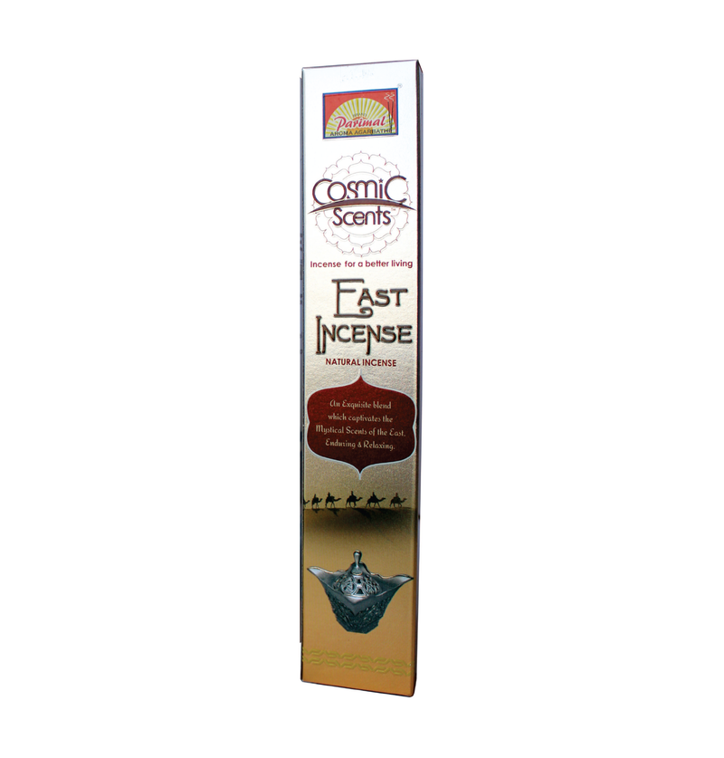 Parimal Cosmic Scents East Incense Sticks 15 Gms (Pack of 12)
