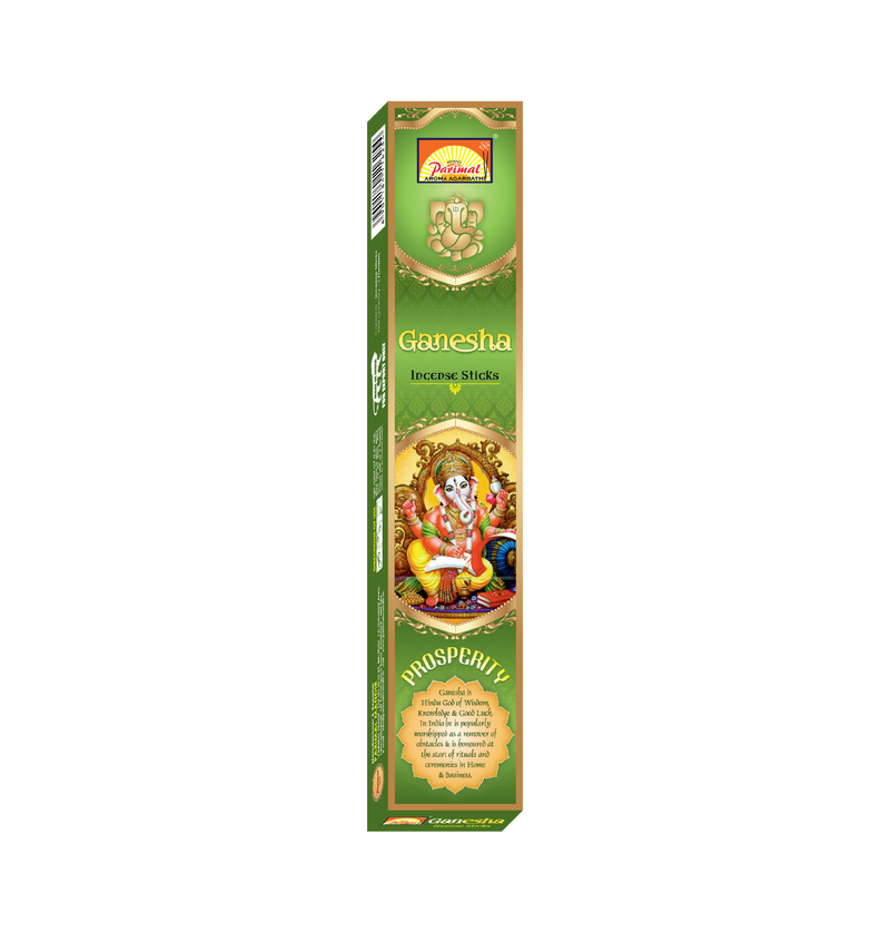 Parimal Divine Ganesha Incense Sticks 15 Gms (Pack of 12)
