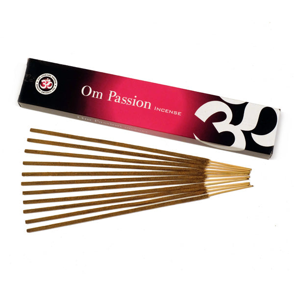 OM Passion 12 X 15g - The KO Shop Australia Wholesale Suppliers Distributors of New Age Products & Natural Incense