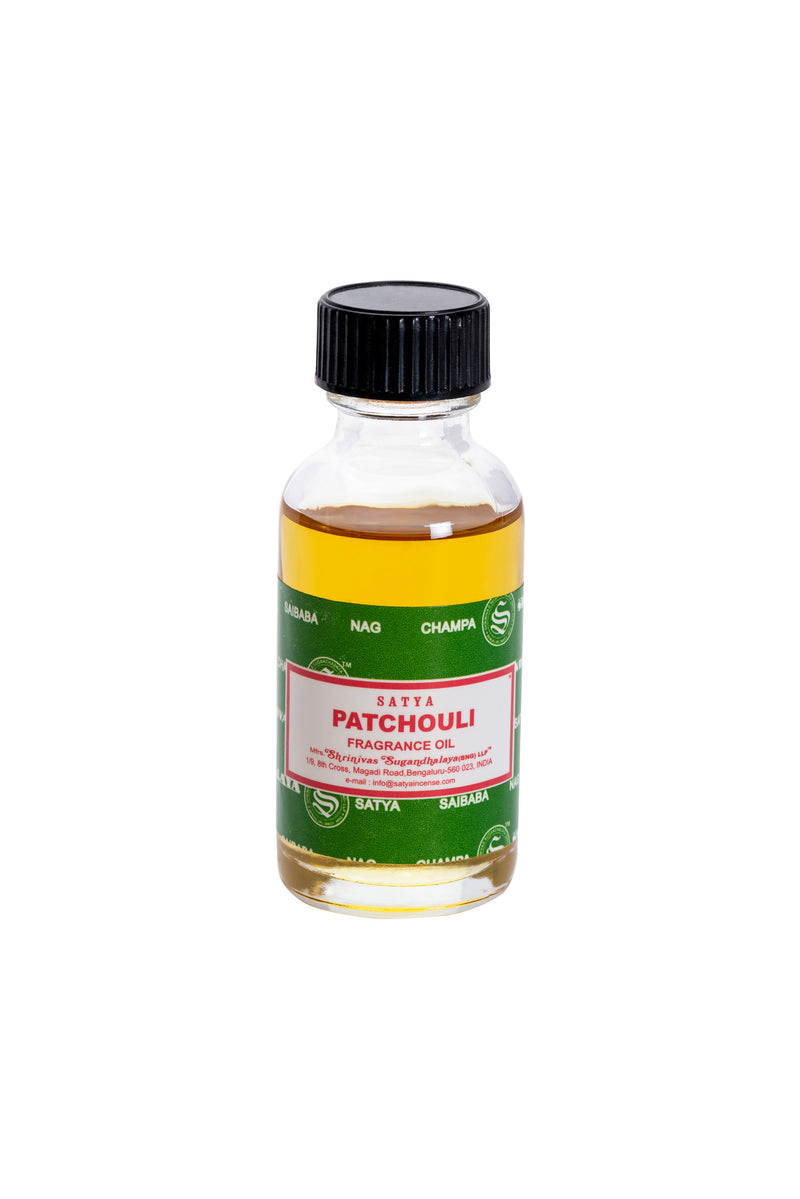 Satya Patchouli Fragrance Oil 30ml x 12 - The KO Shop Australia Wholesale Suppliers Distributors of New Age Products & Natural Incense