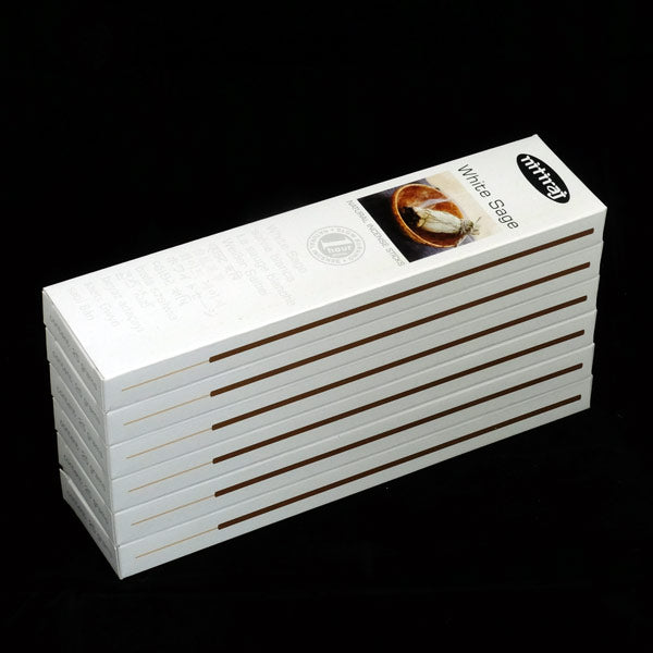 Nitiraj White Sage 6 X 25g - The KO Shop Australia Wholesale Suppliers Distributors of New Age Products & Natural Incense