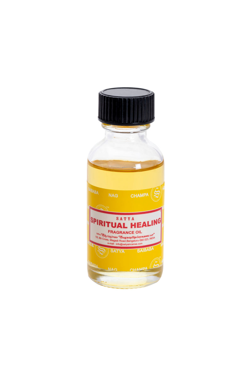Satya Spiritual Healings Fragrance Oil 30ml x 12 - The KO Shop Australia Wholesale Suppliers Distributors of New Age Products & Natural Incense