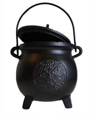 SWH-BR89 CI Cauldron TOL With Lid - The KO Shop Australia Wholesale Suppliers Distributors of New Age Products & Natural Incense