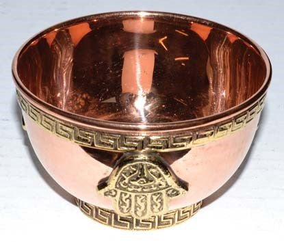 SWH-RBCB3H Copper Bowl - The KO Shop Australia Wholesale Suppliers Distributors of New Age Products & Natural Incense