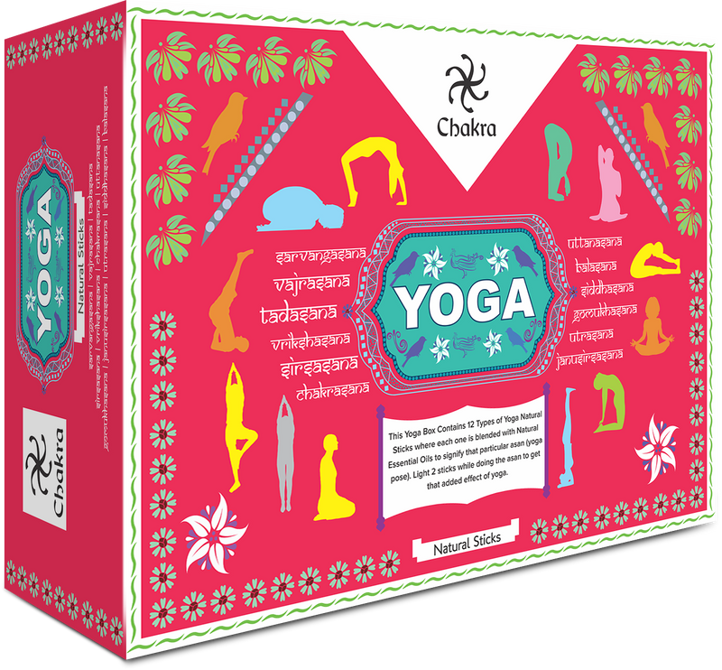 ZED BLACK CHAKRA YOGA -Assorted Pack of 12 Fragrance - The KO Shop Australia Wholesale Suppliers Distributors of New Age Products & Natural Incense