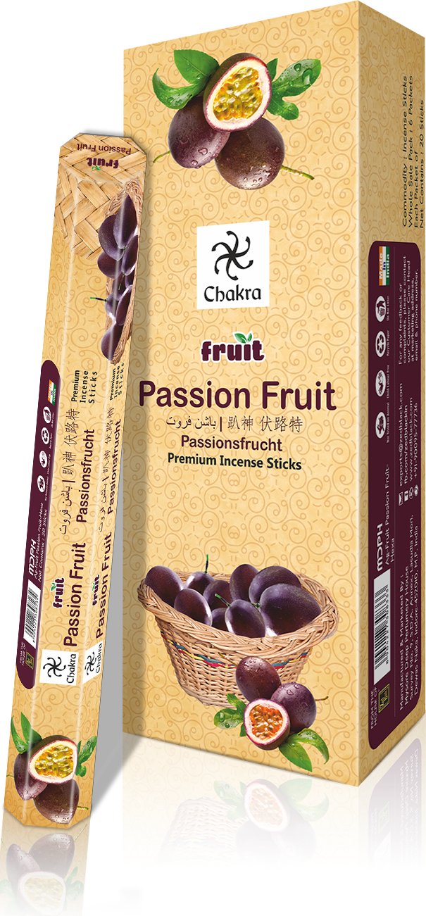 CHAKRA FRUIT PASSION FRUIT (Pack of 6)